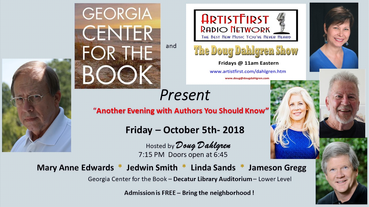 Georgia Center For The Book Previous Author Events